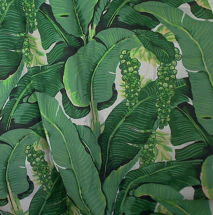 Cote D'Azure Brazilliance Banana Leaves and Grapes