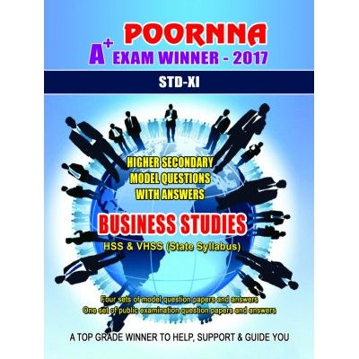 Buy plus one business studies solved question papers online. #Kerala #student #teacher #learning #businessstudies #plusone