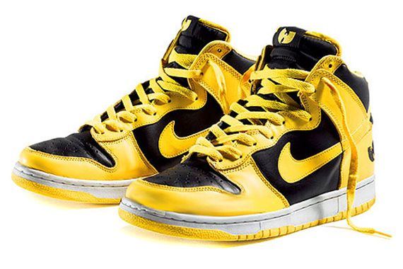 """info for 0e3bc 6856a Nike Dunk High Wu-Tangs """"Wu-Tang Clan aint nuthin to fuck wit ..."""