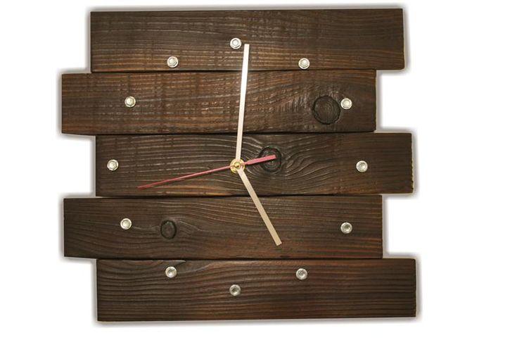 """В наличии и под заказ, эксклюзивные часы ручной работы из дерева серии """"loft style"""". Размер часов 33 х29 см Отлично впишутся в лофт интерьер. ..."""