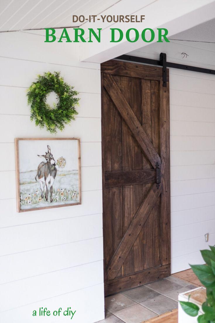 Diy Barn Door Diy Barn Door Garage Door Design Barn Door