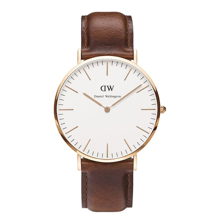 Amazon.com: Daniel Wellington Men's 0106DW St. Mawes Analog Display Quartz Brown Watch: Daniel Wellington: Watches