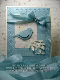 Love this Baja Breeze Beautiful Bird card!