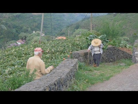 De wandeling in het noorden van La Palma van La Tosca naar Franceses.
