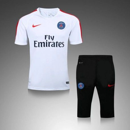 Maillot Training PSG Blanc