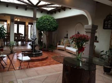 Acogedora casa tipo hacienda mexicana en una sola planta - Entradas de casas rusticas ...