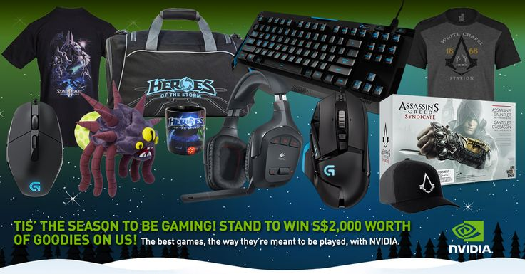 Geek Culture is giving 6 lucky gamers in Singapore & 6 lucky gamers in Malaysia a chance to win a special gamer bundle, courtesy of NVIDIA!