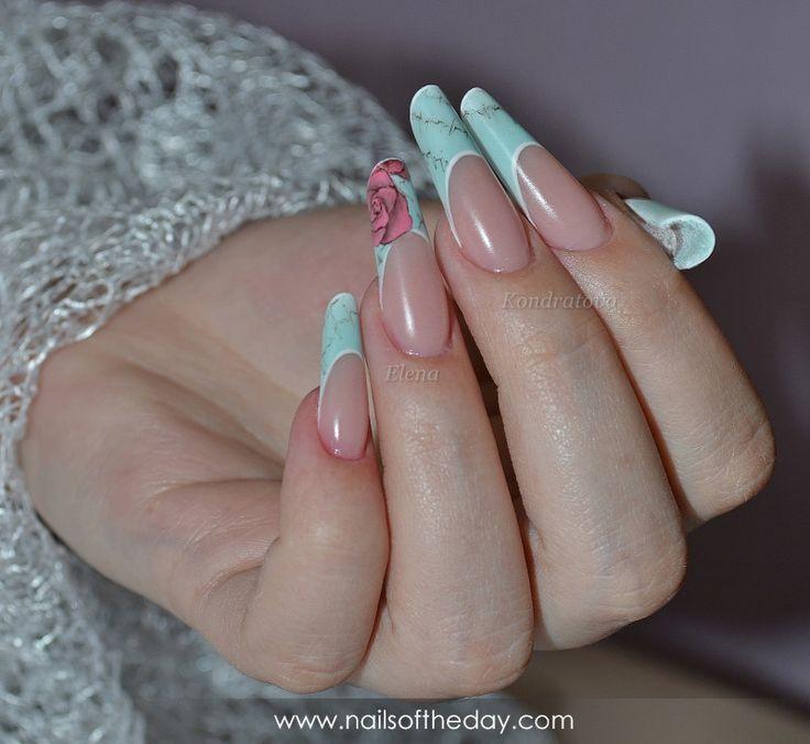 Manicure acrylic #25378