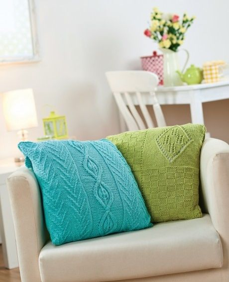676 Best Knit Cushions Blankets Poufs Images On Pinterest