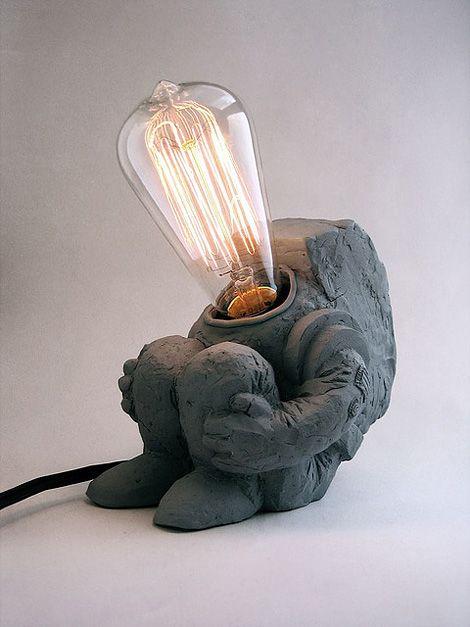 Little Spaceman Lamp