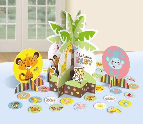 Jungle Animals Cake Decorating Kit