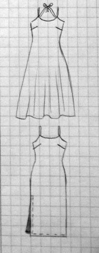 Pour celles qui sont encore en vacances ou qui partent au soleil... Des bretelles doubles lui donnent une touche d'originalité. Cette robe peut se décliner dans sa version droite ou évasée selon ce qui vous sied ! Un tissu fin et fluide lui donnera le...