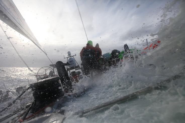 Groupama 4 in the Volvo Ocean Race 2011-2012