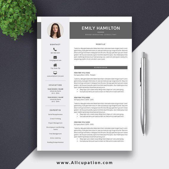 2020 Professional Resume Template Cv Template Word Modern