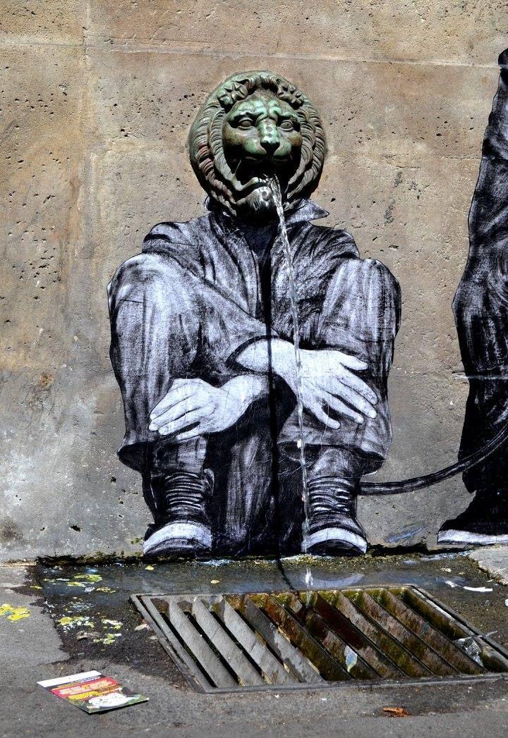 Levalet, 75011, detail #streetart jd