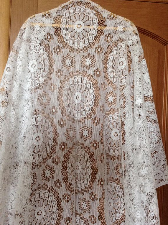 Vintage Cotton Fabric Lace Fabric Tulle For Window Curtains 6 01