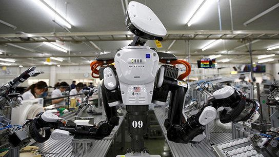 Roboter bedrohen 47 Prozent der US-Jobs - news.ORF.at