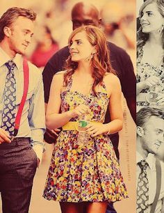 Image Result For Tom Felton And Emma Watson Beauty The Beast