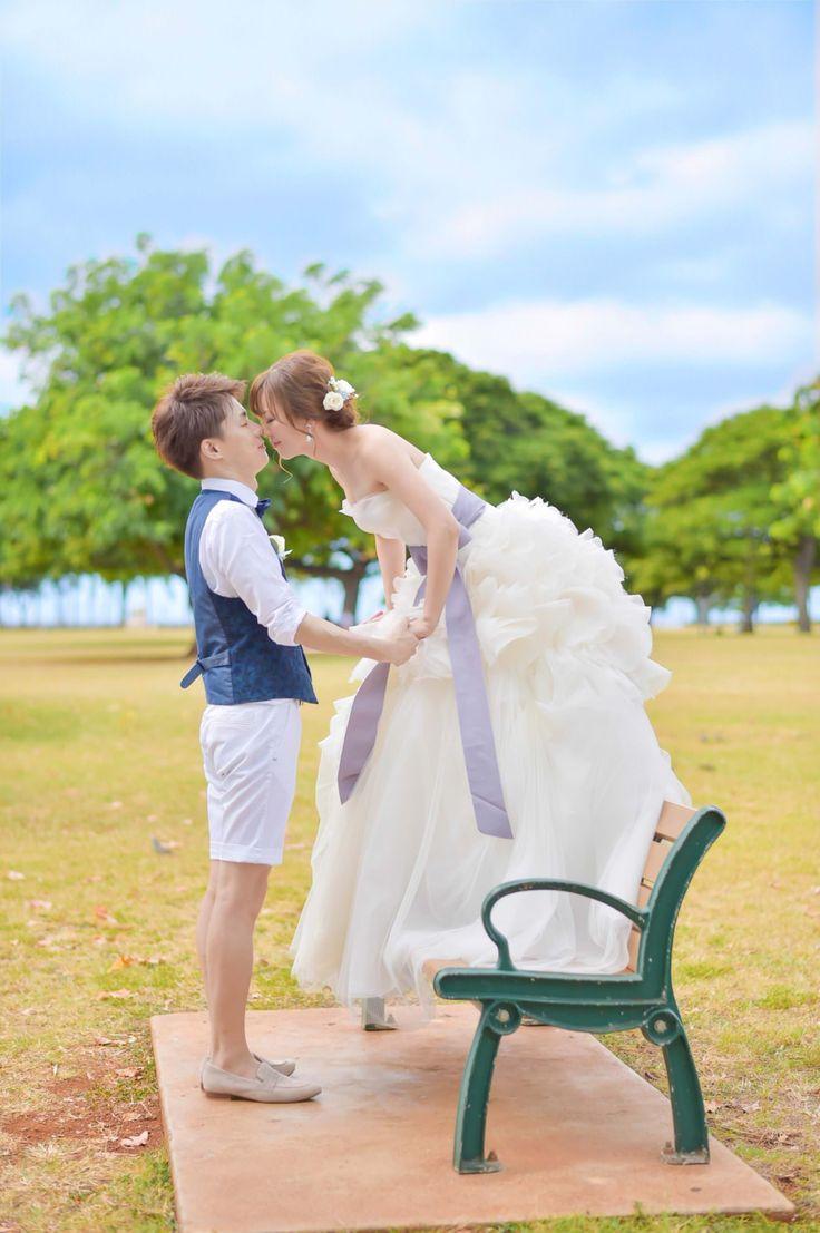 Photography: Hiroki Ishida Photographer #hawaii #afterwedding #ハワイ #後撮り #ロケーションフォト