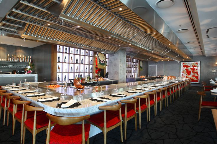We are proud to say we have Australia's largest teppan table! Riverside Teppanyaki
