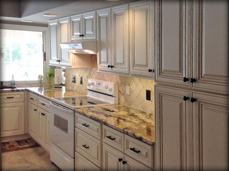 Bristol Antique White Kitchen Cabinets Design Ideas Lily