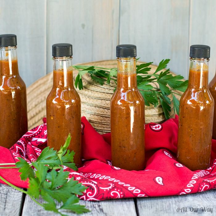 Habanero Pepper Sauce is deliciously hot with the heat tempered by canned peaches. The garlic and spices finish the sauce with deep notes of flavor.