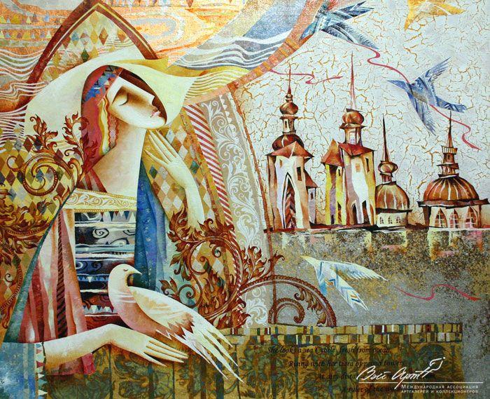 Восхищая, наполняют красотой… Картины Галины Полоз. | Наслаждение творчеством