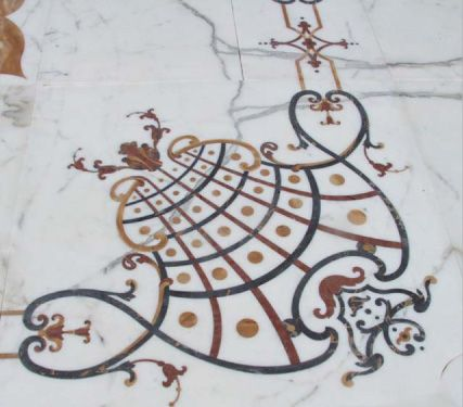 from Carrara's Alps to your door step.. feel the preciousness... #marble #waterjet #naturalstone
