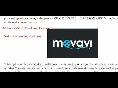 movavi 14 registration key free