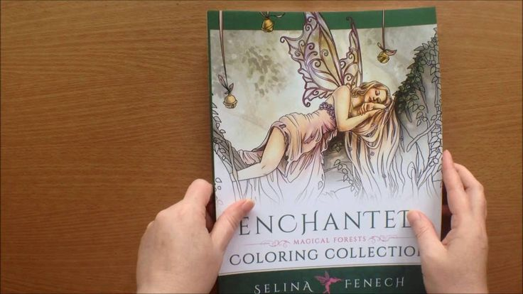 Enchanted Magical Forests By Selina Fenech Colouring Book Flipthrough