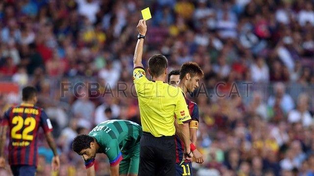 FC Barcelona 7-0 Levante | FC Barcelona, Alves 22 (Número de Abidal). [18.08.13]
