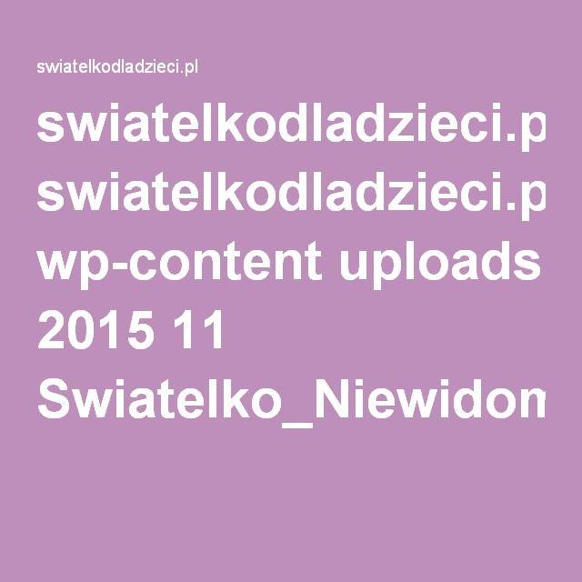 swiatelkodladzieci.pl wp-content uploads 2015 11 Swiatelko_Niewidomi_strony2.pdf