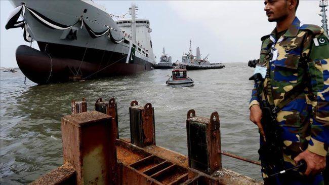 Angkatan Laut Pakistan tangkap 100 nelayan India