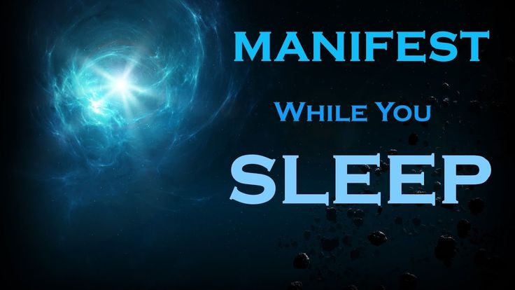MANIFEST while you SLEEP Meditation~Listen Just Before BED - YouTube