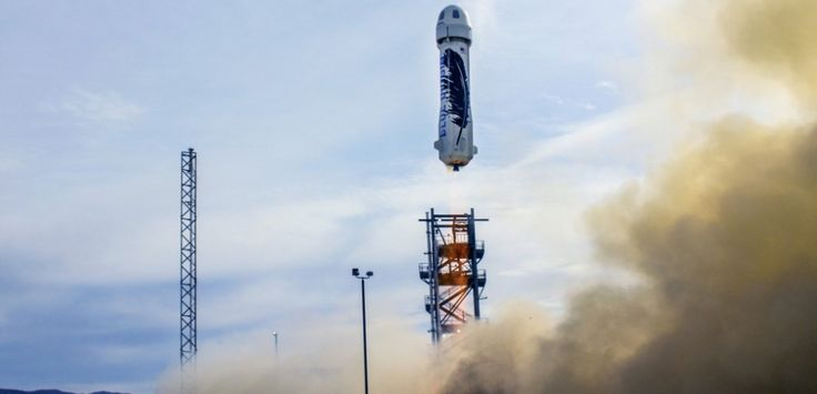 Jeff Bezos' privatespace firm, Blue Originhas announced its successful test rocket : the capsule and starter have been recovered . A big step forward for the conquest of space. A victory for Jeff...