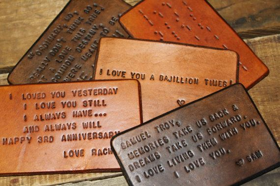 3 Year Wedding Anniversary Gifts For Her: 1000+ Ideas About 3rd Anniversary Leather On Pinterest