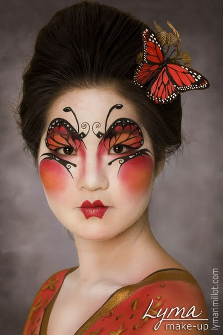 Makeup - butterfly