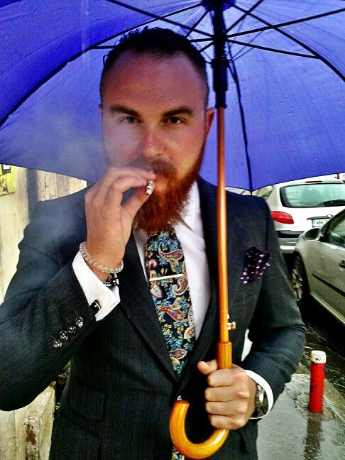 #beard #gentleman #style #suit