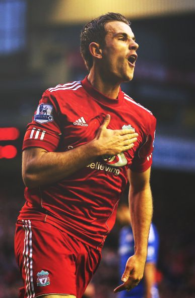Jordan Henderson has signed a new 5-year deal with Liverpool FC keeping him at the club until at least 2020. The deal is worth £100,000 per week, and ensured English talent stays in the Premier League. Congratulations Jordan and LFC. Get your Liverpool kit with a 10% discount using coupon APR2015 http://www.soccerbox.com/liverpool-football-shirts/