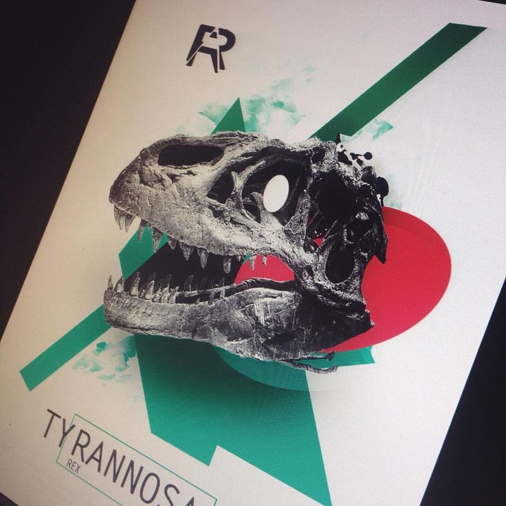 #design #tattoo #graphicdesign #graphic #art #collage #avantgarde #skull #bones #trex #dinosaurs #tyrannosaurus #colors #red #green #composition #idea #new #ukraine #kiev #ua #pashaink