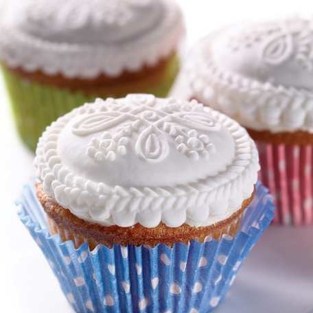 Infinity Pattern Springerle (cool idea for a cookie stamp, too, for the top of a cupcake!)