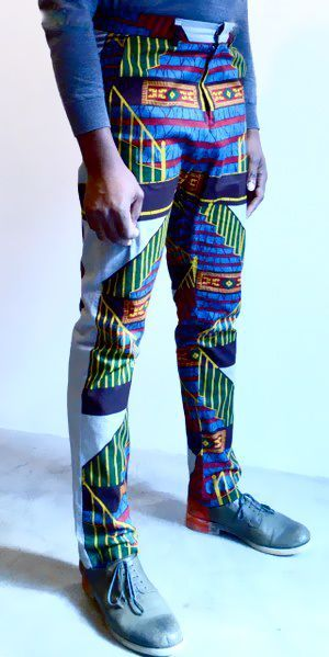 SOBOYE Staircase Print Trousers via SOBOYE. Click on the image to see more!