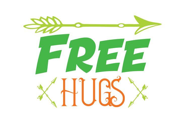 Free Hugs Quote SVG Cut – Andrea Toyad-Lau