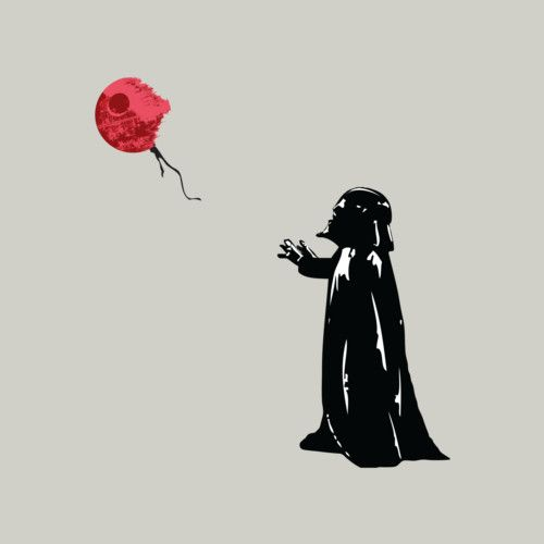 Little Vader is a T Shirt designed by KAMonkey to illustrate your life and is available at Design By Humans