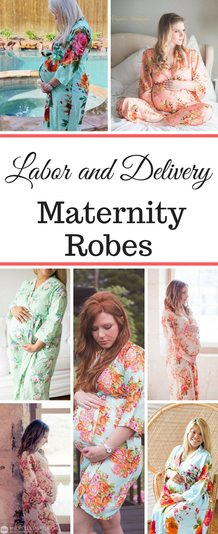 These maternity robes are so pretty and look so comfy! I'd much rather be in this at the hospital! Labor Gowns | Delivery Gowns | Hospital Gowns | Nursing Gowns | Feeding Gowns | Maternity Gowns #ad #maternity #maternitystyle #maternityfashion #maternityphotography #maternityclothes #hospital #labor #delivery #nursing #breastfeeding #gowns #expecting #momtobe #giftideas #giftsforher #giftsformom