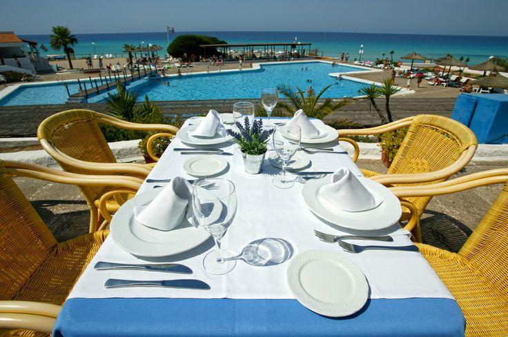 Insotel Club Maryland. Restaurant Terrace.