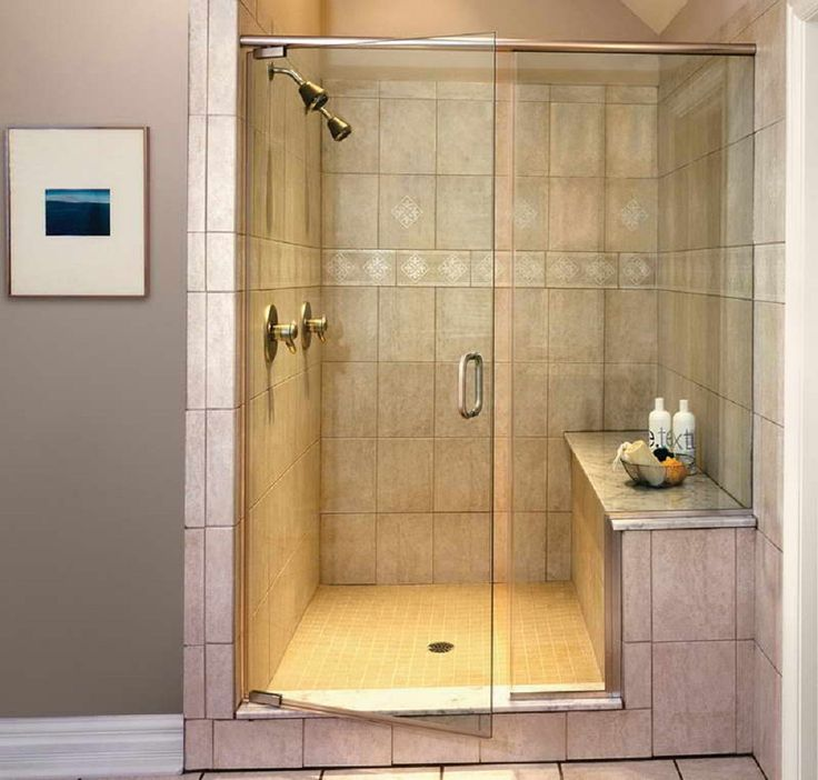 Walk In Shower Ideas For Bathrooms With Glass Shower Doors With Stainless Steel Pulls Faced Captivating Moroccan Carpet And Ceramics Tile : tile door - Pezcame.Com