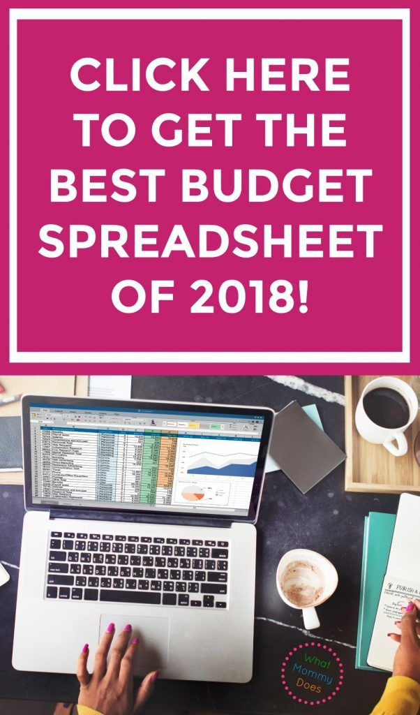 Best Budget Spreadsheet for 2018 Budgeting, Household and Money