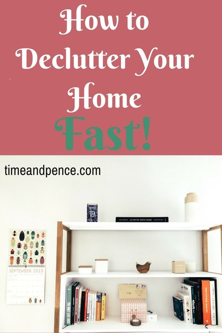 How To Declutter Your Home Fast Feeling Overwhelmed And Decluttering