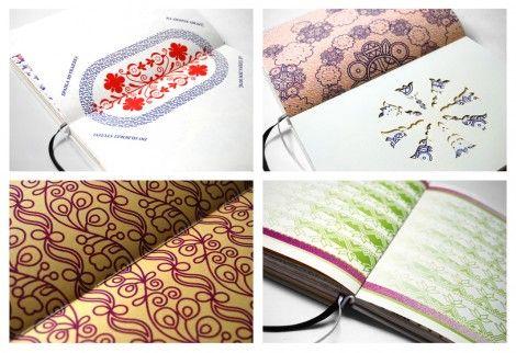 Using Slovak folk art in graphic design